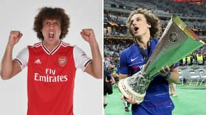 David Luiz Insists That He Left Chelsea To Win Trophies At Arsenal