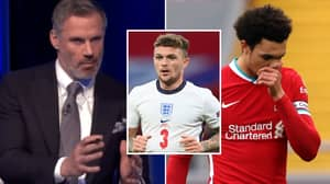 Jamie Carragher Believes Trent Alexander-Arnold Missing The Euros For Kieran Trippier Would Be 'Embarrassing'