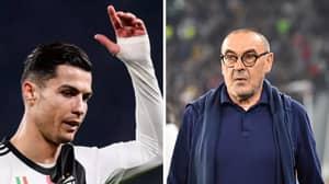 Cristiano Ronaldo Reportedly Called Maurizio Sarri A 'Son Of A W**re'