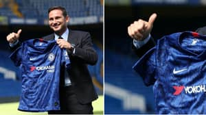 Frank Lampard's Gravity-Defying Trick During Chelsea Unveiling Needs Explaining