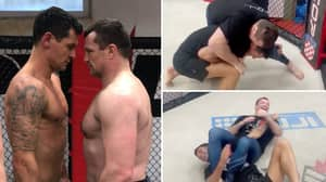 Dejan Lovren Gets In The Octagon With UFC Legend Mirko 'Cro Cop' And Taps Out