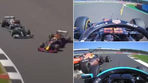 Slow Motion Replay Suggests Lewis Hamilton's Crash With Max Verstappen Was A Racing Incident