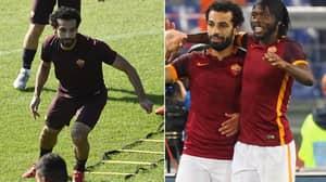 Gervinho Recalls Training Alongside Mohamed Salah, Says He 'Pushed Like A Madman'