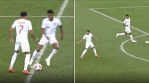 The Moment England Tried To Score While Croatia Celebrated At The World Cup