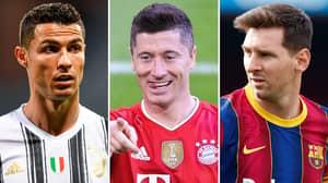 'Bayern Munich Striker Robert Lewandowski Is Better Than Lionel Messi And Cristiano Ronaldo'