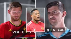 Thibaut Courtois Absolutely Savages Anthony Martial By Saying, 'He's Not A Major Player'