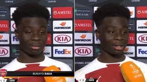 17-Year-Old Bukayo Saka Comes Across Very Well In Humble Post-Match Interview