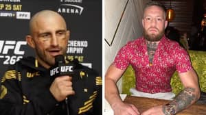 Alexander Volkanovski's Perfect Response To Conor McGregor's Deleted 'Shart' Call-Out