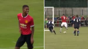 Video Of Marcus Rashford As A Youngster Shows How Good He Was