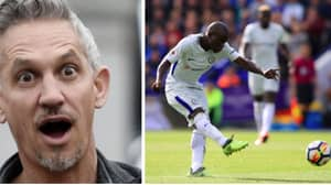 N'Golo Kante Scores Stunner Against Former Club Leicester And Gary Lineker Reacts Perfectly