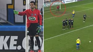 Dani Alves Volunteered To Become PSG's Goalkeeper Last Night And It Was Priceless