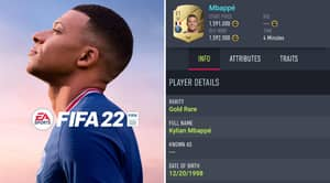 Fans Have Spotted EA Sports' Bizarre Decision To Change Kylian Mbappe's Height In FIFA 22