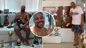 Brazil Legend Adriano Sells £1.2 Million Mansion, Moves Into £10,000-A-Month Hotel With All His Trophies