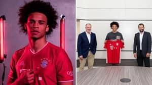Leroy Sane Officially Joins Bayern Munich On Five Year Deal
