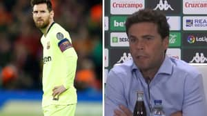 Real Betis Manager Has A Brilliant Response To Lionel Messi Returning