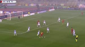 Watch: Eden Hazard Produces A Glorious Defence-Splitting Pass For Belgium Goal