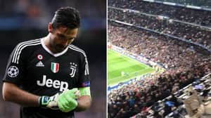 Real Madrid Fans Show Incredible Class In Final Buffon Moments