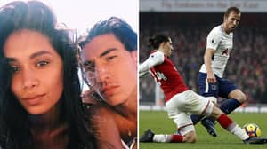 Hector Bellerin Just Trolled Tottenham With Comment On His Girlfriend's Instagram