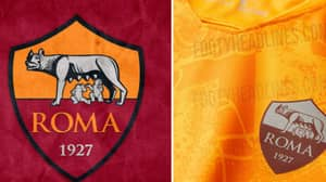 AS Roma's New Third Kit Is Off The Charts