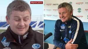 """Ole Gunnar Solskjaer Said In 2013 It's His """"Ultimate Dream"""" To Become Man Utd Manager"""