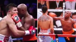 Floyd Mayweather KO'ing Victor Ortiz With A 'Cheap Shot' Was His Most Controversial Win Of His Career