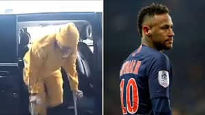Neymar Angrily Responds To Journalist Asking If He Would Re-Join Barcelona