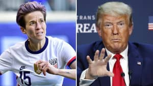 US President Donald Trump Sends Out Warning To US Soccer And NFL Over National Anthem U-Turn