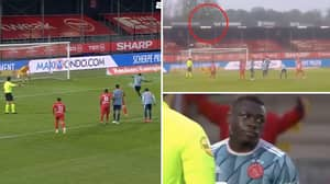 The Incredible Moment Ajax's Brian Bobbey Blazed A Penalty Out Of The Stadium