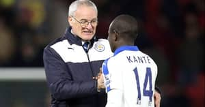 Former Leicester City Player N'Golo Kante Tweets On Ranieri's Sacking