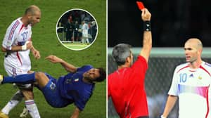 13 Years Ago Today, Zinedine Zidane Headbutted Marco Materazzi In World Cup Final