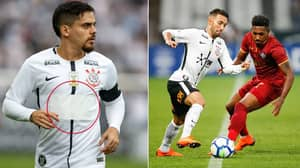 Corinthians' Revolutionary New Shirt Sponsor Is Only Revealed When A Player Sweats