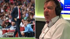 Sam Allardyce Criticises Unai Emery's 'Stupid Way Of Playing' Against Manchester City