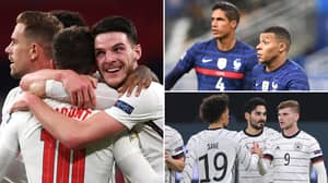 England Have The Most Valuable Squad At Euro 2020, Ahead Of France And Germany