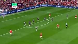 Bruno Fernandes Scores Thunderous Long-Range Strike For Man United Against Newcastle