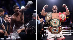 Anthony Joshua Ready To Give Up World Title To 'Create History And Entertainment'