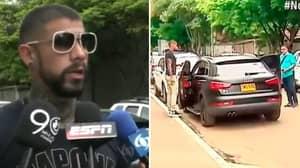 Colombian Footballer Juan Sebastian Quintero Survives Assassination Attempt From His Own Fan