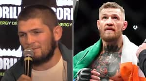 Khabib Nurmagomedov Admits He'll 'Gladly' Fight Conor McGregor Again During Latest Press Conference