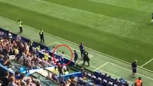 Gianfranco Zola Bows To Eden Hazard After He Scores Superb Hat-Trick