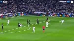 WATCH: Real Madrid's Casemiro Scores A Thunderous Volley Against Napoli