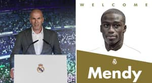 Real Madrid Complete The Signing Of Ferland Mendy From Lyon In £47m Deal
