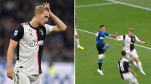 Matthijs De Ligt's Defending To Give Away Penalty Against Inter Was Awful