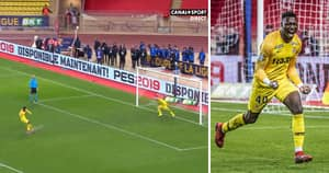 Monaco Goalkeeper Saves Three Penalties, Then He Fires In A Rocket Of A Penalty