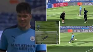 Incredible Training Footage Shows Ederson Could Be The Best Penalty Taker In The World