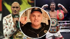 Tyson Fury's Father Makes Huge Claim About Potential Anthony Joshua Fight