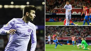Gerard Pique Lays Into His Team-Mates After Barca's Abject Defeat to Atletico Madrid