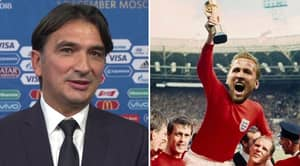 """Croatia Manager Zlatko Dalic Says """"It's Coming Home Very Soon"""" After England Win 2-1"""