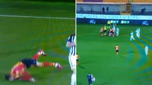 Serie B Game Abandoned Five Seconds After Lecce's Manuel Scavone Suffers Sickening Head Injury