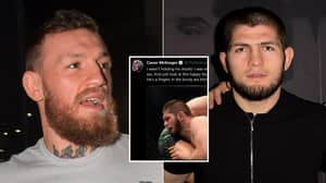 Conor McGregor Calls Khabib 'Homophobic' In Shocking Twitter Rant Which Has Been Deleted