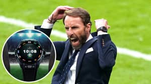 Gareth Southgate Is Sporting £4,800 Watch That Gives Him Detailed Match Information At Euro 2020