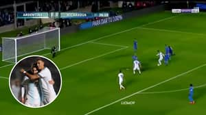 Lionel Messi Scores A Superb Solo Goal In Argentina's 5-1 Thrashing Of Nicaragua